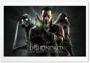 Dishonored The Knife of Dunwall HD Wide Wallpaper for Widescreen