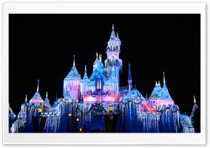 Disney Castle HD Wide Wallpaper for Widescreen
