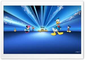 Disney Characters Blue HD Wide Wallpaper for Widescreen