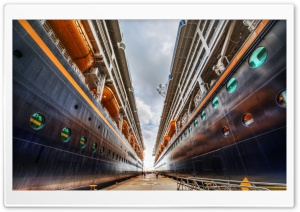 Disney Cruise Ships HD Wide Wallpaper for Widescreen