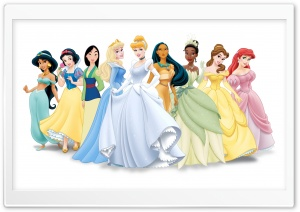 Disney Princess HD Wide Wallpaper for 4K UHD Widescreen desktop & smartphone