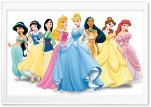 Disney Princess HD Wide Wallpaper for Widescreen