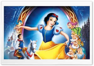 Disney Snow White HD Wide Wallpaper for 4K UHD Widescreen desktop & smartphone