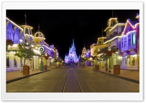 Disney Winter Holidays HD Wide Wallpaper for Widescreen