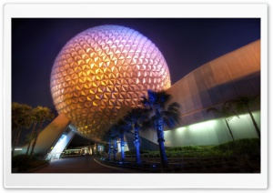 Disney World Sphere HD Wide Wallpaper for Widescreen
