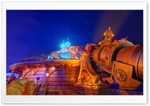 Disneyland Paris HD Wide Wallpaper for 4K UHD Widescreen desktop & smartphone