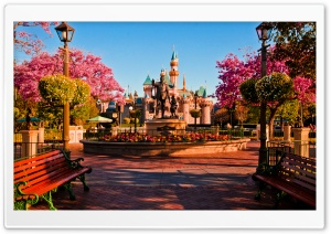 Disneylands Hub HD Wide Wallpaper for Widescreen