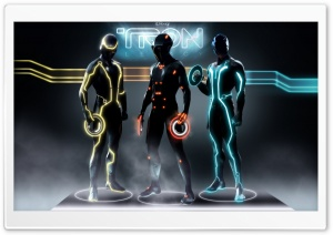 Disney's Tron Legacy HD Wide Wallpaper for Widescreen