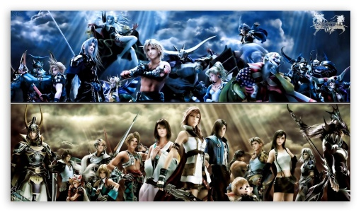 Dissidia 012 Final Fantasy Ultra Hd Desktop Background Wallpaper For 4k Uhd Tv