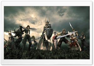 Dissidia Final Fantasy HD Wide Wallpaper for Widescreen