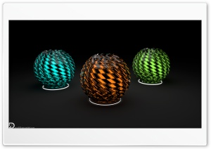 Distorted Spheres 5k-Apple iMac HD Wide Wallpaper for 4K UHD Widescreen desktop & smartphone