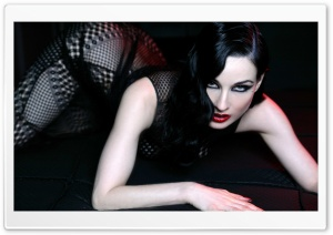Dita Von Teese HD Wide Wallpaper for 4K UHD Widescreen desktop & smartphone