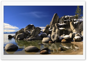 Divers Cove, Lake Tahoe HD Wide Wallpaper for Widescreen