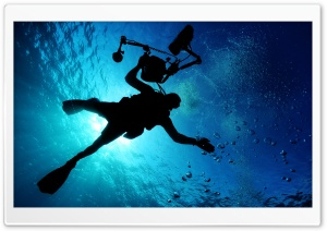 Diving HD Wide Wallpaper for Widescreen
