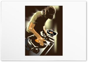 DJ HD Wide Wallpaper for Widescreen