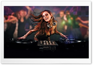 DJ Ultra HD Wallpaper for 4K UHD Widescreen desktop, tablet & smartphone