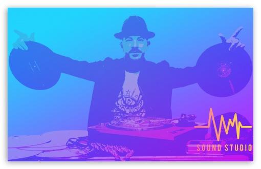 DJ - Sound Studio UltraHD Wallpaper for Wide 16:10 5:3 Widescreen WHXGA WQXGA WUXGA WXGA WGA ; 8K UHD TV 16:9 Ultra High Definition 2160p 1440p 1080p 900p 720p ; Mobile 5:3 16:9 - WGA 2160p 1440p 1080p 900p 720p ;