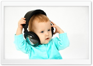 DJ Baby Ultra HD Wallpaper for 4K UHD Widescreen desktop, tablet & smartphone