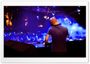 Dj Mixing HD Wide Wallpaper for Widescreen