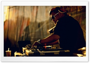 Dj Playing Music HD Wide Wallpaper for Widescreen