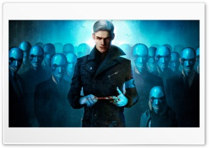 DmC - Vergil HD Wide Wallpaper for Widescreen