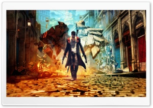 DmC by osehello11 HD Wide Wallpaper for Widescreen