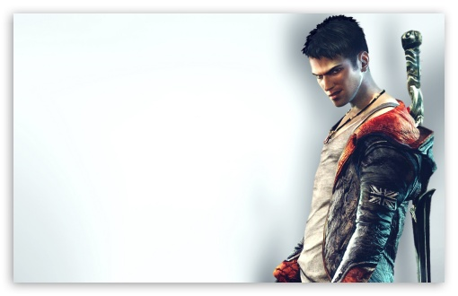 DMC Devil May Cry HD wallpaper for Wide 16:10 5:3 Widescreen WHXGA WQXGA WUXGA WXGA WGA ; HD 16:9 High Definition WQHD QWXGA 1080p 900p 720p QHD nHD ; Standard 4:3 5:4 Fullscreen UXGA XGA SVGA QSXGA SXGA ; MS 3:2 DVGA HVGA HQVGA devices ( Apple PowerBook G4 iPhone 4 3G 3GS iPod Touch ) ; Mobile VGA WVGA iPhone iPad PSP Phone - VGA QVGA Smartphone ( PocketPC GPS iPod Zune BlackBerry HTC Samsung LG Nokia Eten Asus ) WVGA WQVGA Smartphone ( HTC Samsung Sony Ericsson LG Vertu MIO ) HVGA Smartphone ( Apple iPhone iPod BlackBerry HTC Samsung Nokia ) Sony PSP Zune HD Zen ; Tablet 1&2 ;