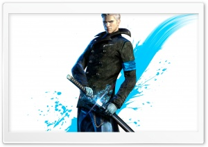DmC Vergil HD Wide Wallpaper for Widescreen