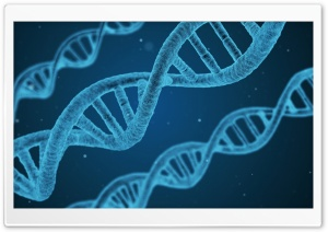 DNA Microscope HD Wide Wallpaper for Widescreen