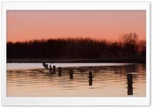 Dobbe Lake, Nootdorp, Netherlands HD Wide Wallpaper for Widescreen