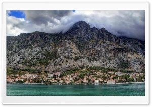 Dobrota Montenegro HD Wide Wallpaper for Widescreen