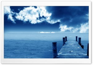 Dock Nature HD Wide Wallpaper for Widescreen