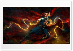 Doctor Strange Concept Art HD Wide Wallpaper for Widescreen