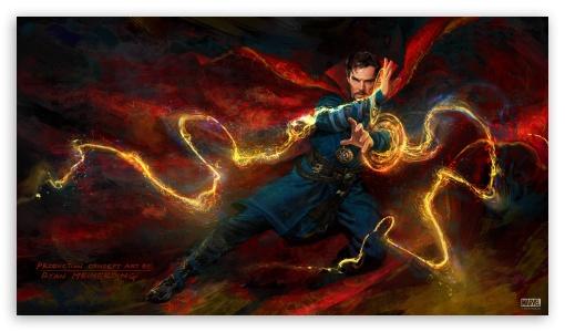 Doctor Strange Marvel Movie Wallpapers Widescreen Cinema: Doctor Strange Concept Art 4K HD Desktop Wallpaper For 4K
