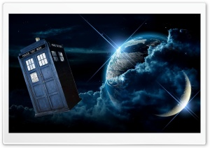 Doctor Who Tardis HD Wide Wallpaper for 4K UHD Widescreen desktop & smartphone