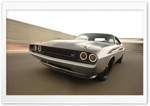 Dodge Challenger RT race HD Wide Wallpaper for Widescreen
