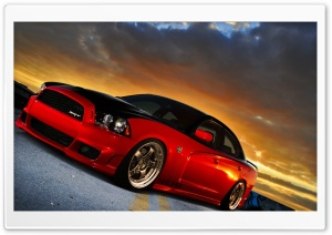 Dodge Charger SRT HD Wide Wallpaper for Widescreen