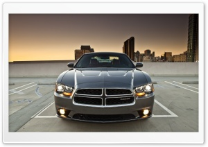 Dodge Charger SRT Front HD Wide Wallpaper for Widescreen
