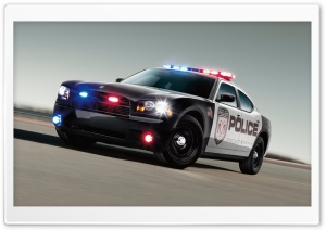 Dodge Police Car HD Wide Wallpaper for Widescreen