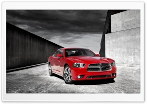 Dodge Red Ultra HD Wallpaper for 4K UHD Widescreen desktop, tablet & smartphone