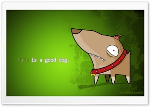 Dog Cartoon HD Wide Wallpaper for Widescreen