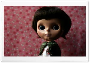 Doll Before Bedtime HD Wide Wallpaper for Widescreen