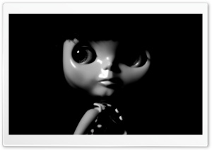 Doll In The Dark HD Wide Wallpaper for Widescreen
