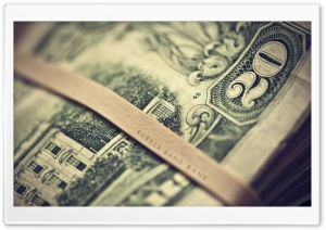 Dollars HD Wide Wallpaper for Widescreen