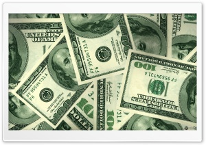 Dollars Money HD Wide Wallpaper for Widescreen
