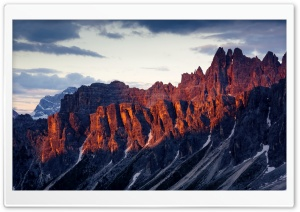 Dolomites Mountain range, Italy HD Wide Wallpaper for Widescreen