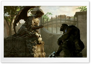 Dominic Santiago - Gears of War HD Wide Wallpaper for Widescreen