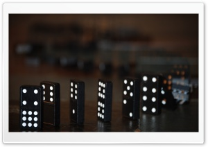 Domino Effect HD Wide Wallpaper for Widescreen