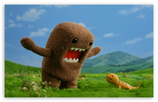 Domo Kun HD wallpaper for Standard 4:3 Fullscreen UXGA XGA SVGA ; Wide 16:10 5:3 Widescreen WHXGA WQXGA WUXGA WXGA WGA ; HD 16:9 High Definition WQHD QWXGA 1080p 900p 720p QHD nHD ; Other 3:2 DVGA HVGA HQVGA devices ( Apple PowerBook G4 iPhone 4 3G 3GS iPod Touch ) ; Mobile VGA WVGA iPhone iPad PSP - VGA QVGA Smartphone ( PocketPC GPS iPod Zune BlackBerry HTC Samsung LG Nokia Eten Asus ) WVGA WQVGA Smartphone ( HTC Samsung Sony Ericsson LG Vertu MIO ) HVGA Smartphone ( Apple iPhone iPod BlackBerry HTC Samsung Nokia ) Sony PSP Zune HD Zen ;