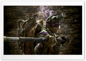 Donatello - Teenage Mutant Ninja Turtles 2014 Movie HD Wide Wallpaper for Widescreen